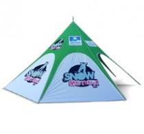 Nadruki na namiotach
